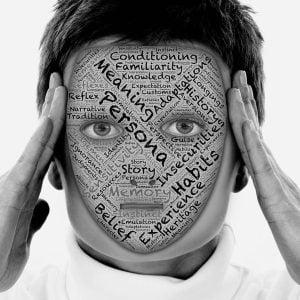 human facade of a brand persona